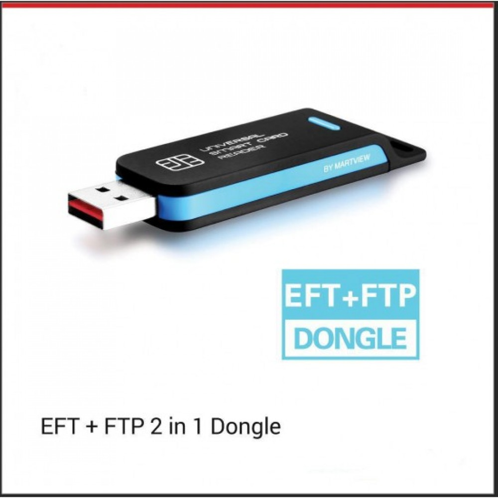 EFT + FTP 2 in 1 Dongle