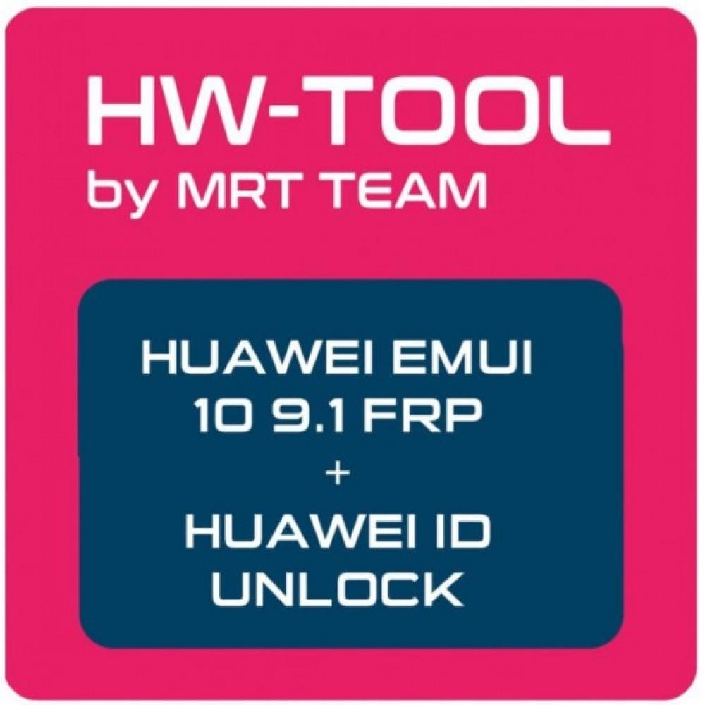HW Tool by MRT (For Huawei EMUI 10, 9.1 FRP & Huawei ID Unlock)