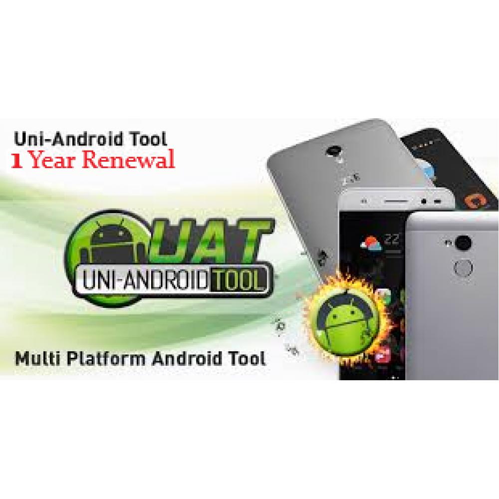 Uni-Android Tool 1 year renewal