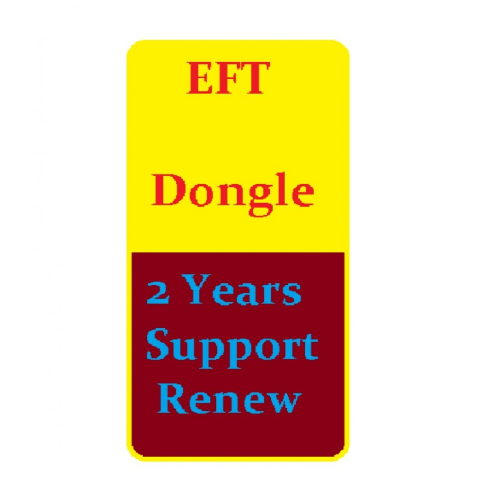 EFT Dongle support activation 2 Years